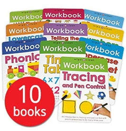 Wipe-Clean Workbook Collection from Priddy Books