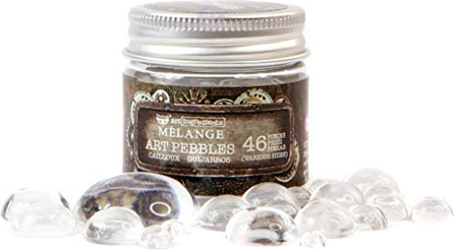 Prima Marketing Finnabair Art Ingredients Melange Art Pebbles 4-Assorted Sizes, Other, Multicoloured from Prima Marketing