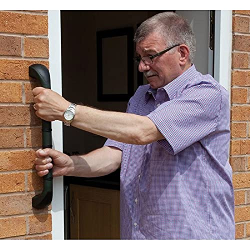 ##BRAND## Prima Outdoor Grab Rail, Excellent Grip with Slip Resistant Rings, Assistive Grab Bar, Helps to Easily Enter and Exit the Home, Suitable for Outdoors, (Eligible for VAT relief in the UK) from PRIMA