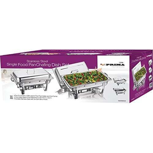 Prima Stainless Steel Single Food Pan Chafing Dish Set from Prima