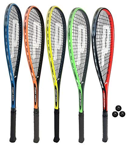 Prince Power Beast Squash Racket Plus Cover + 3 Balls from Prince