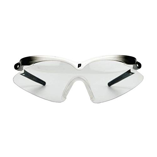 Prince Scopa Slim Squash Eyewear, Color- White/Black from Prince