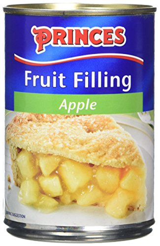 Princes Apple Fruit Filling 395 g (Pack of 6) from Princes