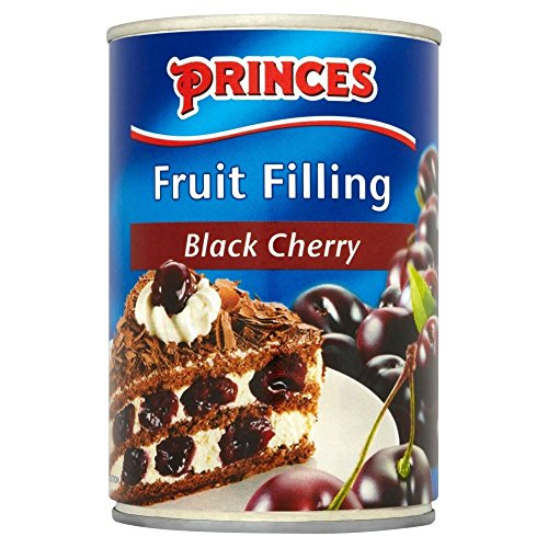 Princes Fruit Filling Black Cherry (410g) - Pack of 2 from Princes