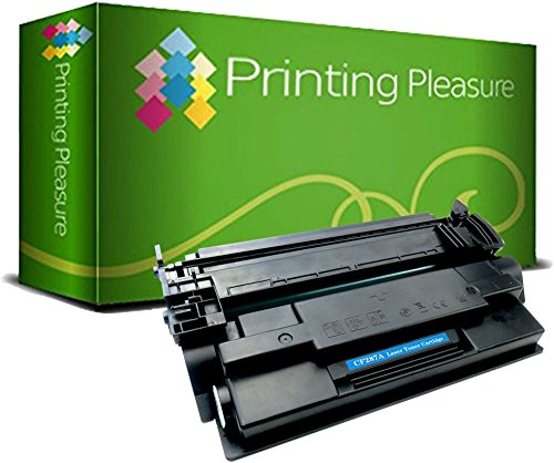 Printing Pleasure Compatible CF287A 87A Toner Cartridge for HP LaserJet Enterprise M506dn M506n M506x MFP M527c M527dn M527f M527z | HP LaserJet Pro M501dn M501n - Black, High Yield (9,000 Pages) from Printing Pleasure