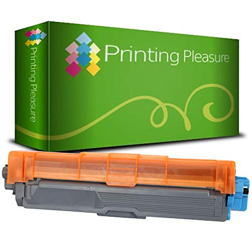Printing Pleasure TN245 Cyan Toner Cartridge compatible with Brother DCP-9020CDW HL-3140CW HL-3142CW HL-3150CDW HL-3152CDW HL-3170CDW HL-3172CDW MFC-9130CW MFC-9140CDN MFC-9330CDW MFC-9340CDW from Printing Pleasure