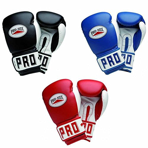 Pro Box Club Essentials Boxing Gloves - Blue - 14oz from Pro Box