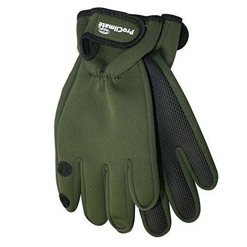 Pro Climate MA000139 Neoprene Gloves - Green - Small/Medium from Pro Climate
