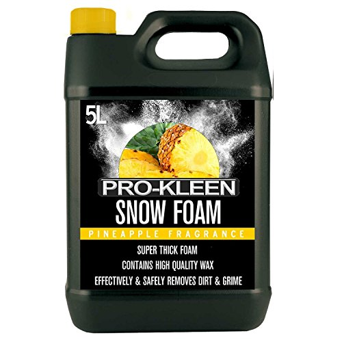 Pro-Kleen 234158 Snow Foam pH Neutral, Super Thick and Non-Caustic - Easy to Use 5L (Pineapple Fragrance) from Pro-Kleen