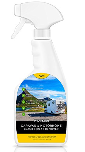 Pro-Kleen Caravan & Motorhome Black Streak, Algae & Mould Remover (1 x 750ml) from Pro-Kleen