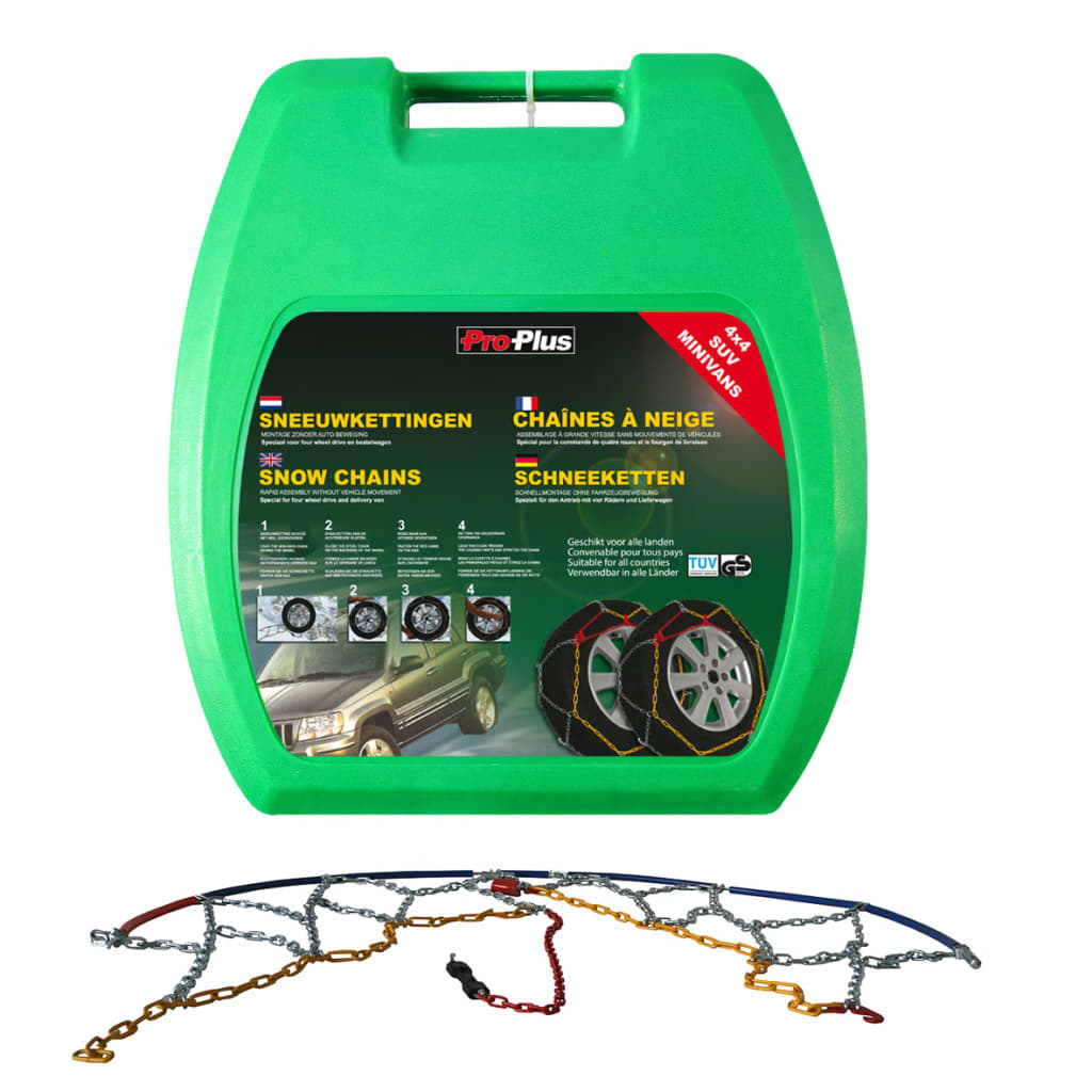 ProPlus Car Tyre Snow Chains 16 mm KB38 2 pcs from ProPlus
