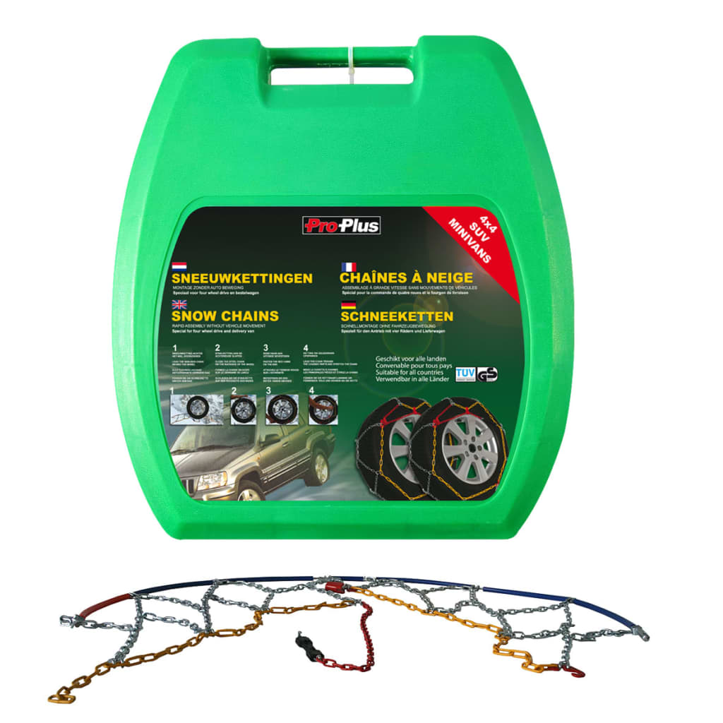 ProPlus Car Tyre Snow Chains 16 mm KB39 2 pcs from ProPlus