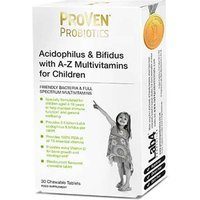 ProVen Probiotics Acidophilus & Bifidus With A-Z Multivitamins For Children - 30 Chewable Tablets from ProVen Probiotics