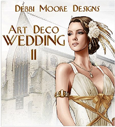 1 x Debbi Moore Designs Art Deco Wedding II Papercrafting CD Rom (323234) from Jackdaw Express