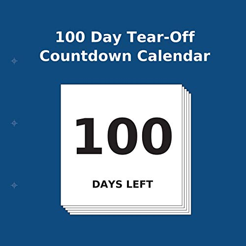 100 Day Tear-Off Countdown Calendar from Transcripture International