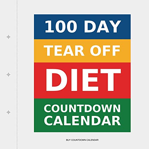 100 Day Tear-Off Diet Countdown Calendar from Transcripture International