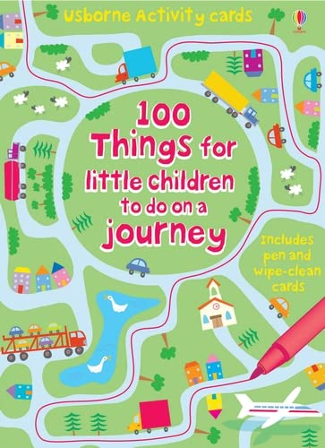 100 Things for Little Children to do on a Journey (Usborne Activity Cards) from Usborne Publishing Ltd