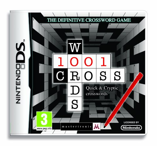 1001 Crosswords (Nintendo DS) from Mastertronic
