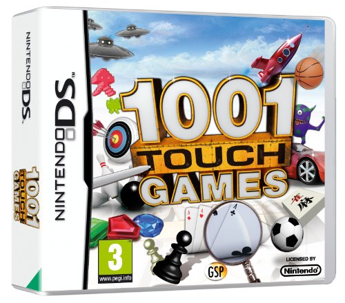 1001 TouchGames (Nintendo DS) from Avanquest Software