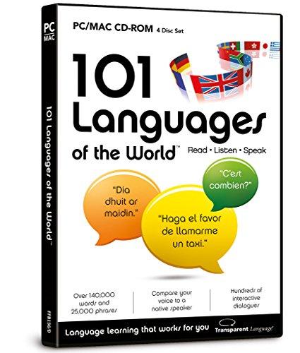 101 Languages Of The World for PC/Mac (CD-ROM) from focus