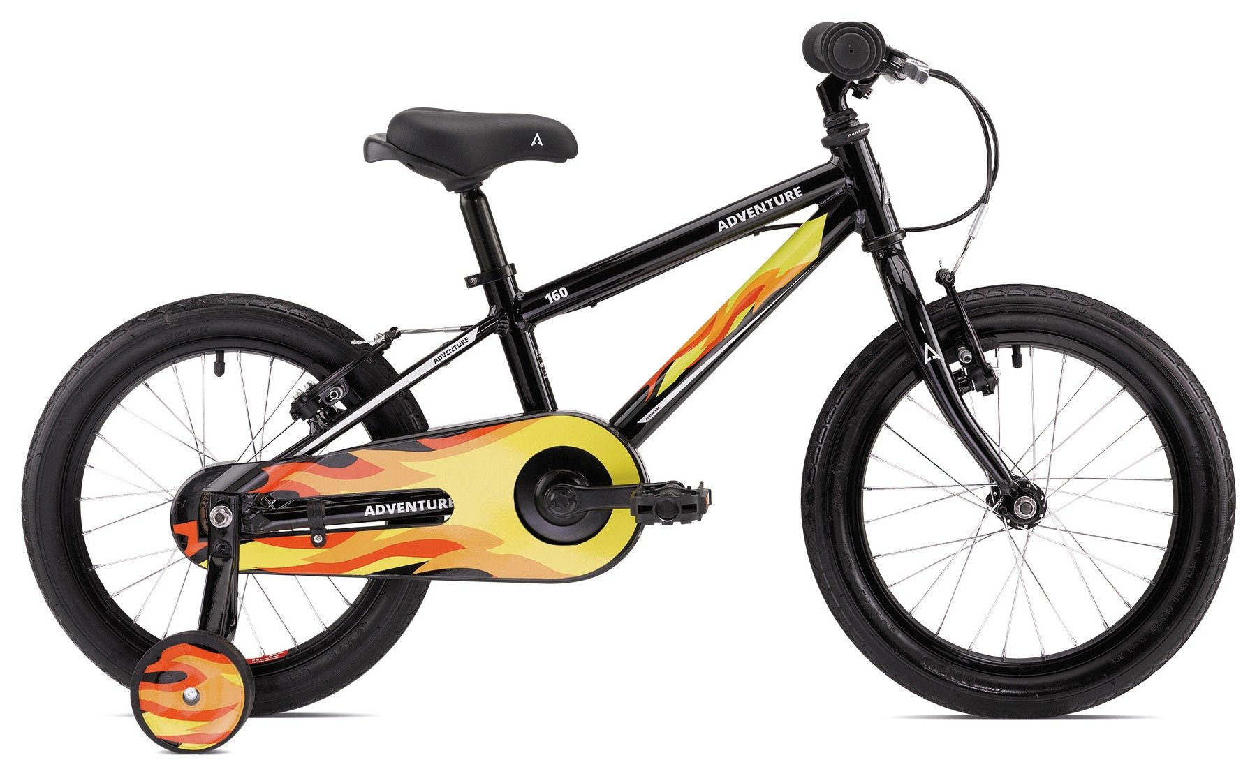 160 Kids 16 Inch Junior Mountain Bike from Adventure