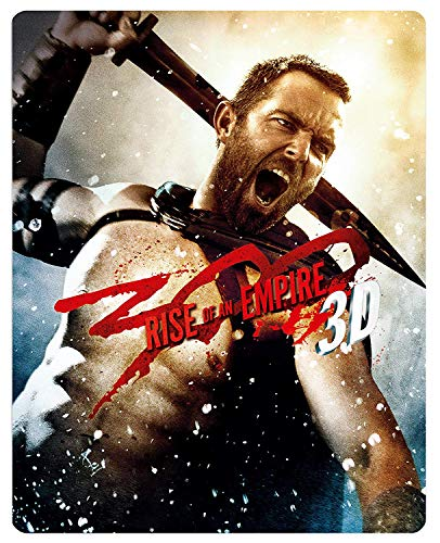 300: Rise of an Empire - Limited Edition Steelbook [Blu-ray 3D + Blu-ray] [2014] [Region Free] from Warner Home Video