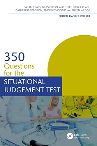 350 Questions for the Situational Judgement Test (Medical Finals Revision Series) from Productivity Press