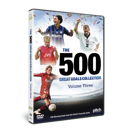 500 Great Goals - Volume 3 [DVD] from History Channel