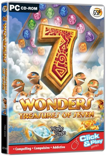 7 Wonders: Treasures of Seven (PC CD) from Avanquest Software