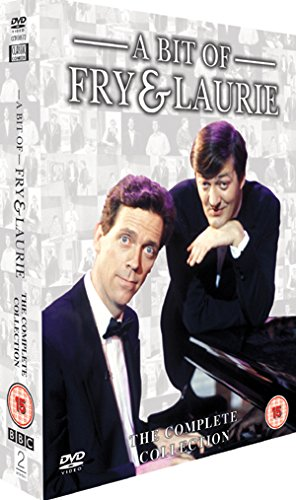 A Bit Of Fry And Laurie - BBC Series 1-4 Complete Box Set [1989] [DVD] from 2 Entertain Video