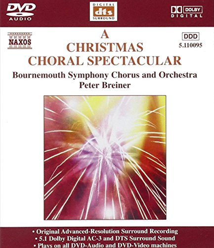 A Christmas Choral Spectacular [DVD AUDIO] from NAXOS