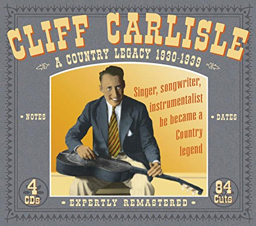 A Country Legacy: 1930-1939 from Carlisle, Cliff