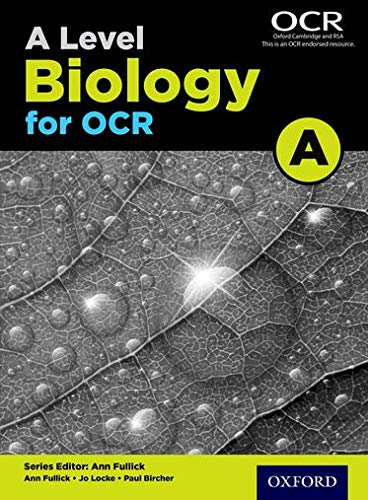 A Level Biology A for OCR Student Book (Science a Level for Ocr) from Oxford University Press
