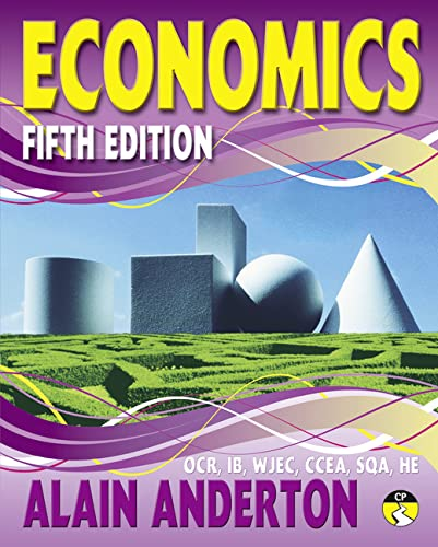 A Level Economics Student Book: Fifth edition from Pearson Education Limited