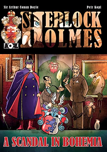 A Scandal In Bohemia - A Sherlock Holmes Graphic Novel from MX Publishing