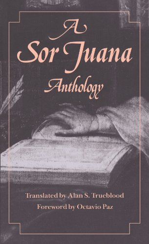 A Sor Juana Anthology from Harvard University Press