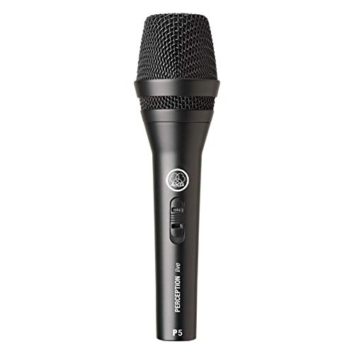 AKG P5s Professional Dynamic Live Vocal Microphone With Switch from AKG