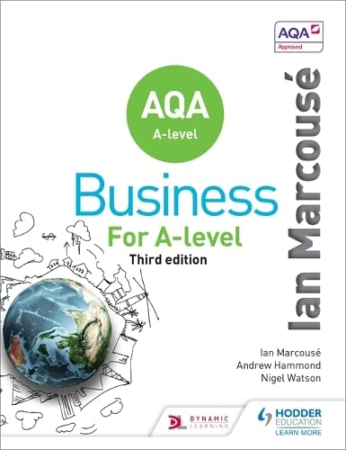 AQA Business for A Level (Marcousé) from Hodder Education