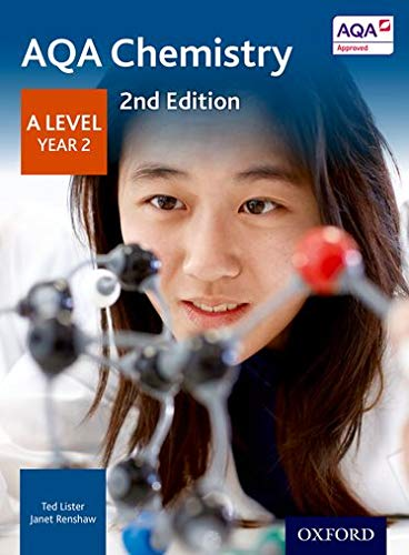 AQA Chemistry A Level Year 2 Student Book from OUP Oxford