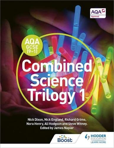 AQA GCSE (9-1) Combined Science Trilogy Student Book 1 from Hodder Education