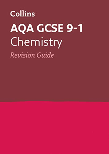 Grade 9-1 GCSE Chemistry AQA Revision Guide (with free flashcard download) (Collins GCSE 9-1 Revision) from Collins