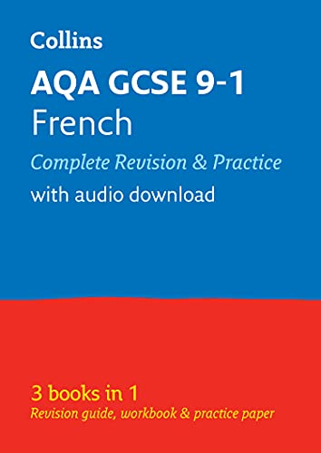 Grade 9-1 GCSE French AQA All-in-One Complete Revision and Practice (with free flashcard download) (Collins GCSE 9-1 Revision) from Collins