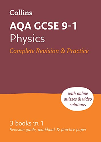 Grade 9-1 GCSE Physics AQA All-in-One Complete Revision and Practice (with free flashcard download) (Collins GCSE 9-1 Revision) from Collins