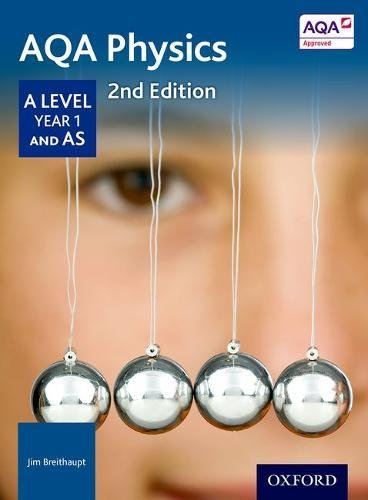 AQA Physics A Level Year 1 Student Book from OUP Oxford