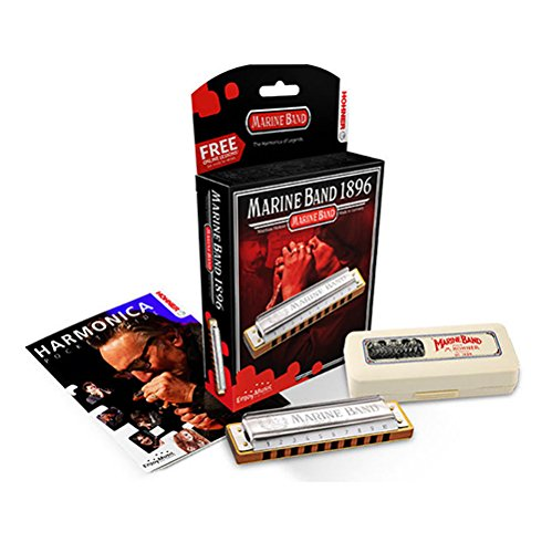 ARMONICA BLUES - Hohner (1896/20G nm) Marine Band Classic Minor (Nota Sol natural minor) 20 Voces from HOHNER