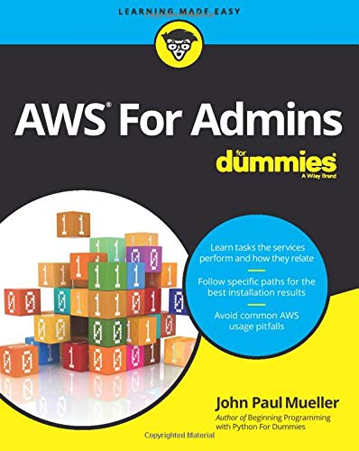 AWS For Admins For Dummies (For Dummies (Computers)) from For Dummies