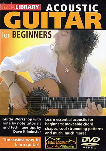 Acoustic Guitar for Beginners [DVD] [NTSC] from Music Sales