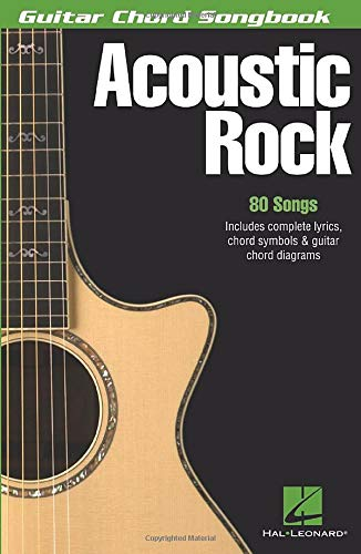 Guitar Chord Songbook: Acoustic Rock (Guitar Chord Songbooks) from Hal Leonard