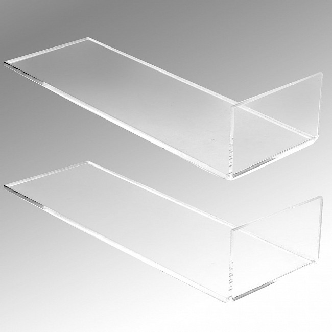 Acrylic bottle holder CANTO 2 piece set