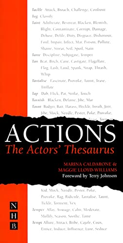 Actions: The Actor's Thesaurus from Nick Hern Books